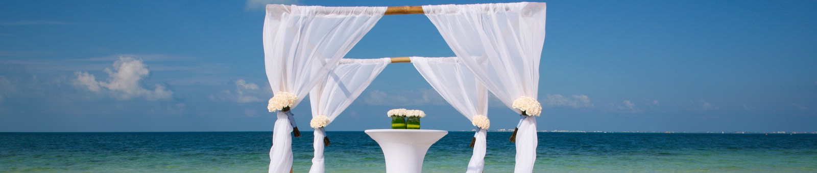 Marenas Resort's beach wedding venue
