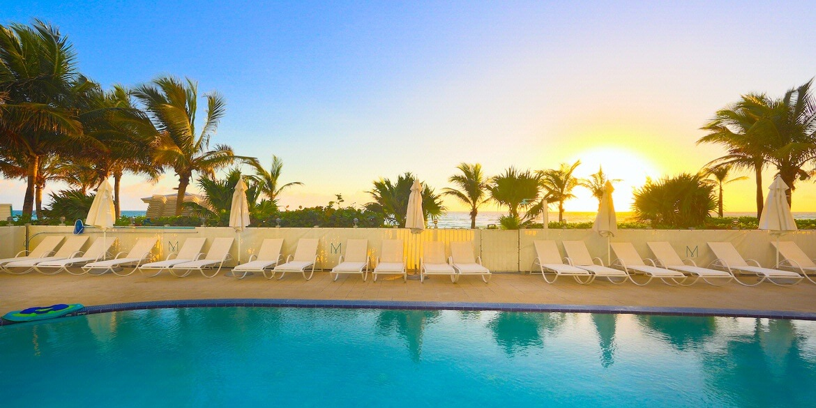 Relax Poolside at Marenas Beach Resort