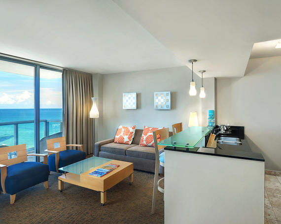 One Bedroom Suite at Marenas Beach Resort