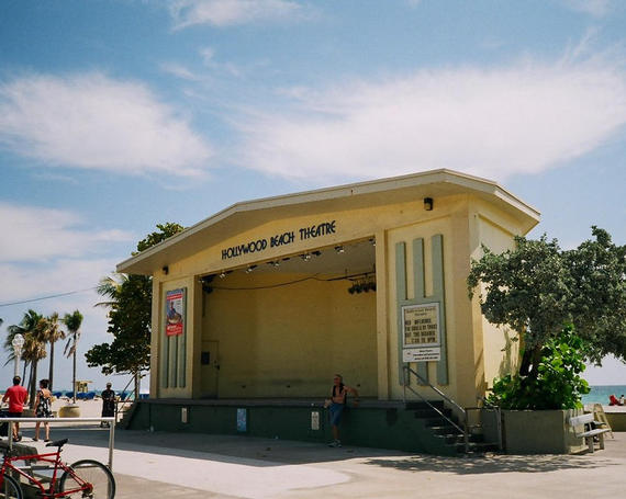 hollywood beach bandshell