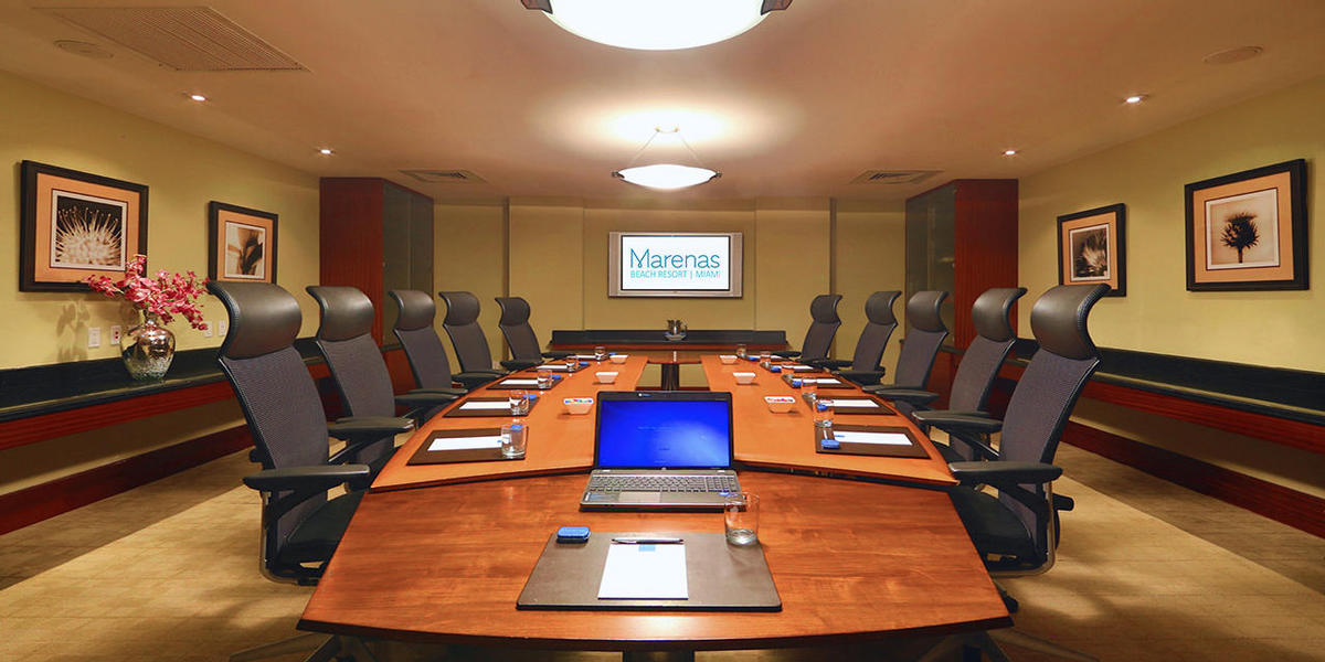 Meeting room at Marenas